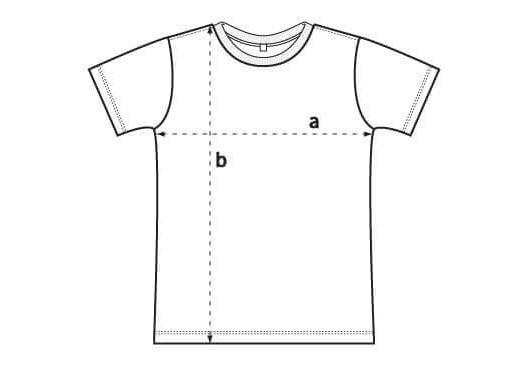 EP01 T-Shirt Größentabelle