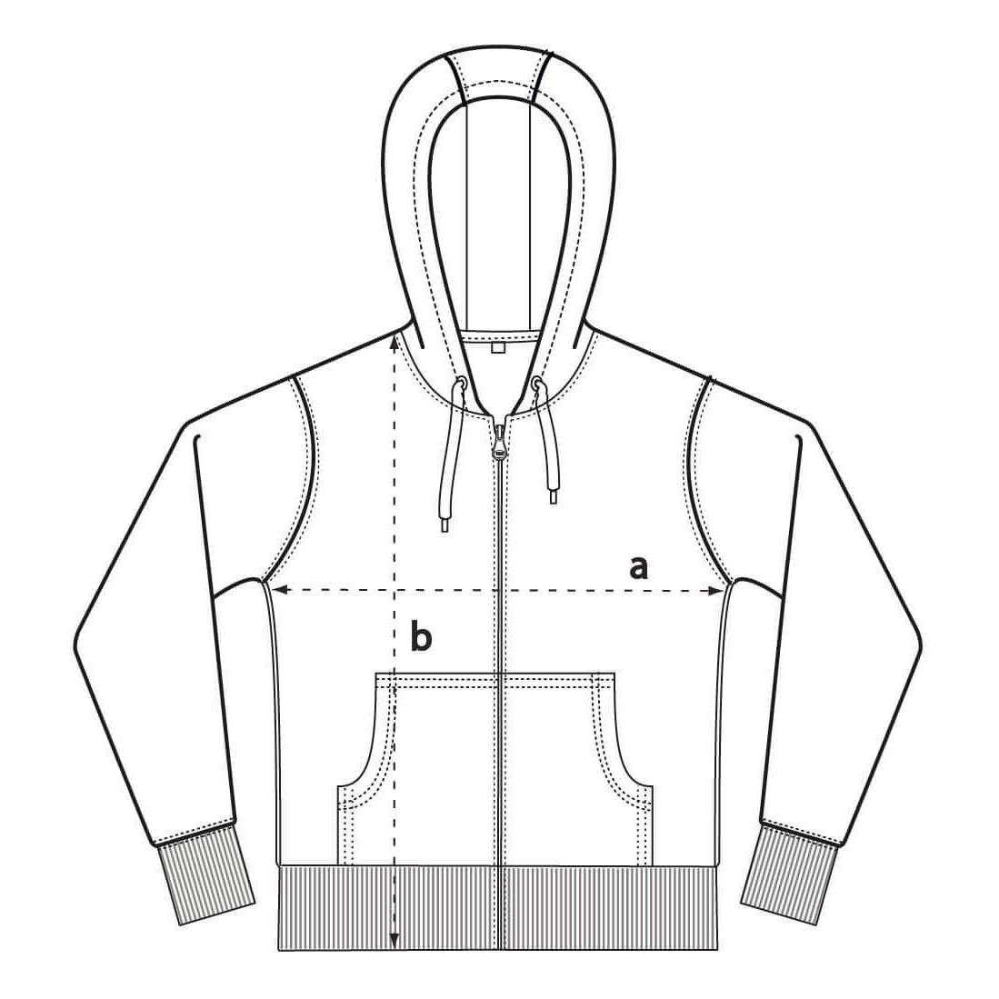 EP51Z Zipper Größentabelle
