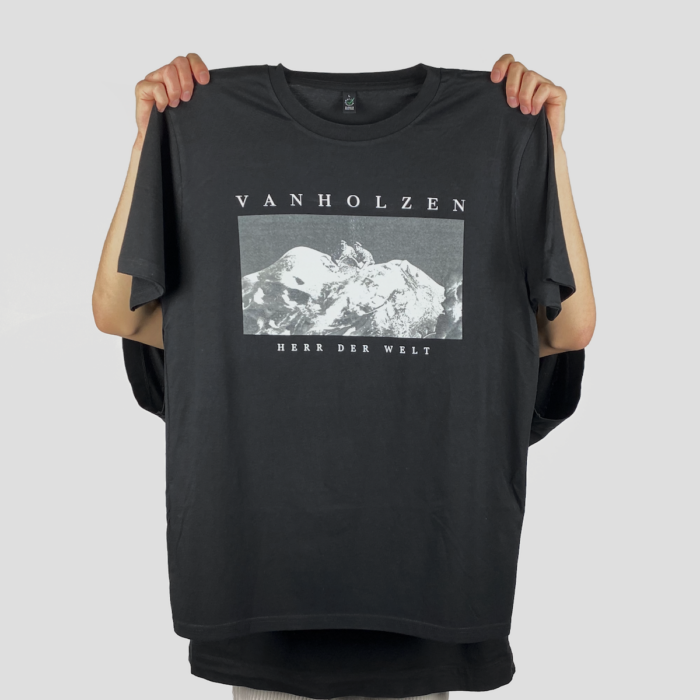 Van Holzen Herr der Welt Shirt Ansicht von Vorne